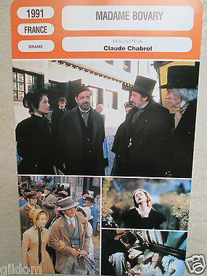 Fiche Madame Bovary / Isabelle Huppert1991 Chabrol Yanne  Mr Cinema