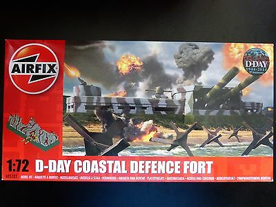 Airfix Nr. A05702 D-Day Coastal Defence Fort in 1:72