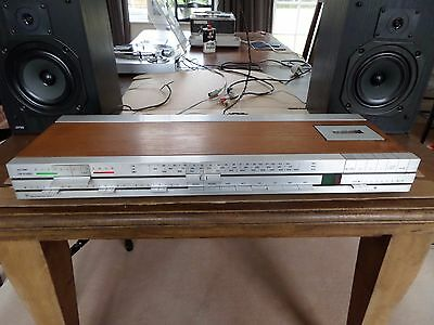 B&O Beocenter 1400 vintage tuner, amplifier, cassette deck with phono input