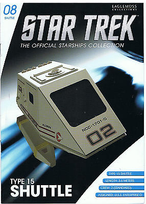 STAR TREK EXECUTIVE SHUTTLE EARTH SPACEDOCK Eaglemoss Raumschiffsammlung Erde