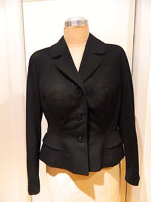 Vintage 1940's Wiggle Jacket . Sz 10 in excellent condition