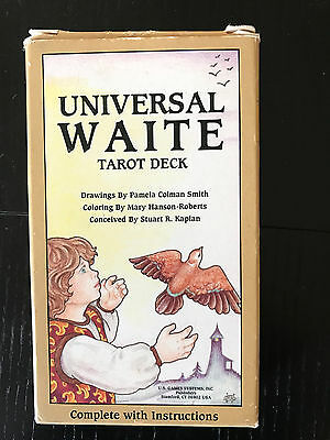 Universal WAITE tarot cards  full size deck alternative to usual Rider Waite