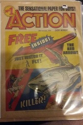 Action comic uk issue 1