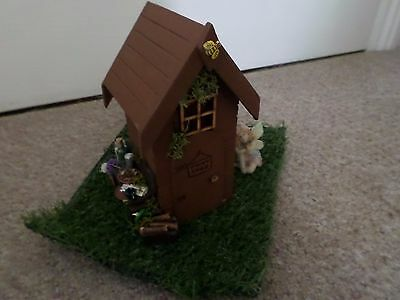 Dolls House Miniature - 1.12 Scale -  Garden Fairy Shed  Ideal For Fairy Gardens