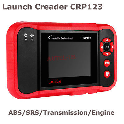 Launch Creader CRP123  Code Reader Scanner Diagnostic Tool ABS SRS Engine A/T
