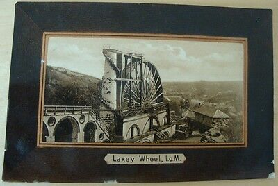 Laxey Wheel Isle of Man 1909 Publ. H Hough Douglas