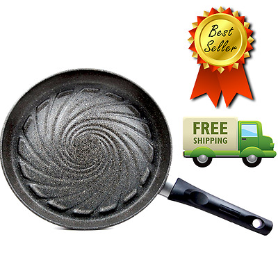 New TECHEF Infinity Aluminum Fry Pan Stainless Teflon Coated Non stick Cookware