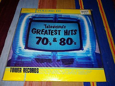"""Televisions greastest hits 70s & 80s - 12""""lp 1987 ex.con/nr mint"""
