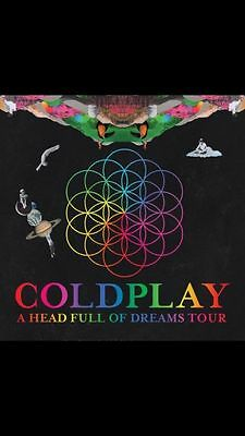 2 x ColdPlay Tickets (General Admission) Cardiff 11th July 2017