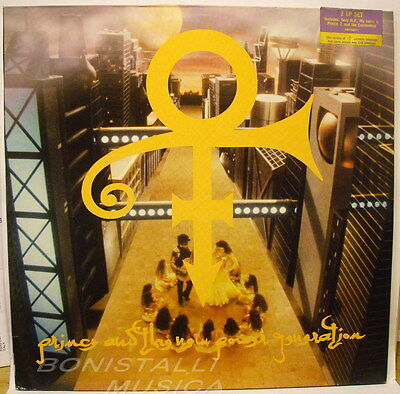 PRINCE & THE NEW POWER GENERATION - Untitled ( Love Symbol ) - 2 LP Never Played