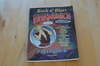 Rock and Blues Harmonica Jon Gindick Book and CD