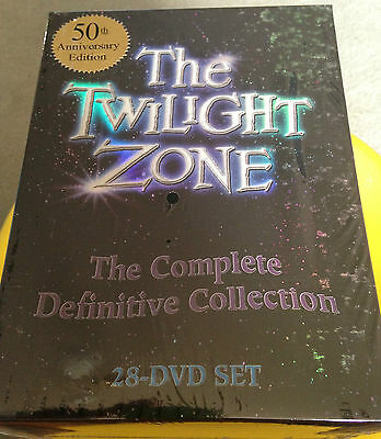 The Twilight Zone Complete Dvd Definitive Collection Series 1 2 3 4 5 Brand New