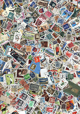 World Stamps Kiloware Off Paper 130g , Thousands of Stamp