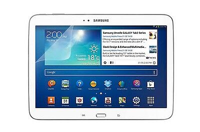 Film protection transparent tablette Samsung Galaxy tab 3 10.1 pouces