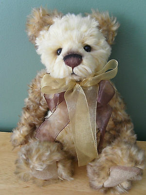 "Charlie Bears EVIE *NEW* 9"" Smallest Standing Plush Bear"