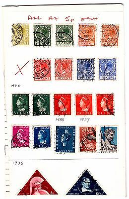 Netherlands Circuit Booklet.  150 Stamps. Mounted/Used .#495