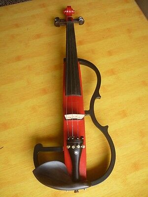 Red High-End Handmade Beginners Preferred Work Musical Instrument Violin #