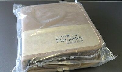 "United Airlines Global First Amenitykit ""Polaris"" 2017 Nagelneu!!!!TOP!!!"