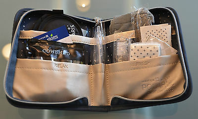 "United Airlines Business Amenitykit ""Polaris"" 2017 Nagelneu!!!!TOP!!!"