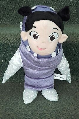 DISNEYLAND PARIS Disney BOO Soft Toy in Monsters Inc Costume approx 11 inches