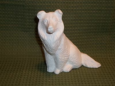 Collie - Ceramic Bisque Ready to Paint