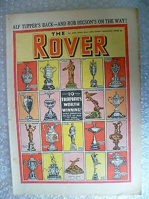 Comic- THE ROVER, No.1295, 22nd April 1950 ; 19 Trophies worth Winning
