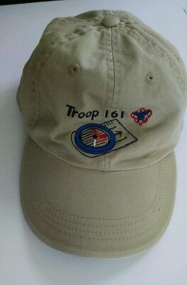 Boy Scout Embroidered Ball Cap Troop 161 Boise, Idaho