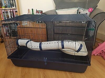 Extra large cage chinchillas rat guinea pig mouse ferret for Extra large rabbit cage