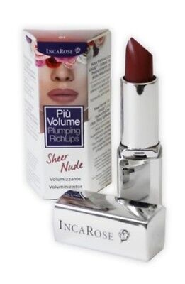 Più Volume plumping rich lips Incarose 01 Sheer nude