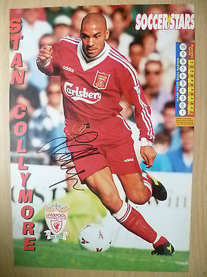 Original Hand Signed Mag Pictures- STAN COLLYMORE at Liverpool FC(apx11.5x8.2in)