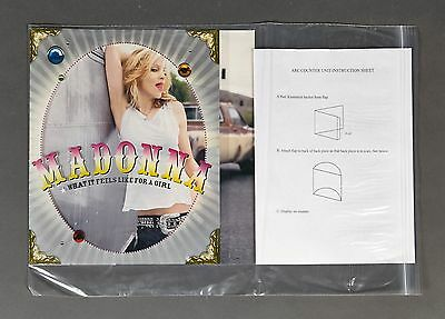 Madonna Arc 3D Counter Display Promo Display New What It Feels Like For A Girl
