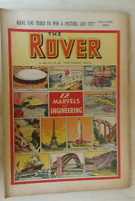 Comic-THE ROVER, No.1358, 7th July 1951 12 MARVELS OF ENGINEERING