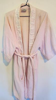 Robes of Australia Vintage Women's Towelling Bath Robe Dressing Gown Size MEDIUM
