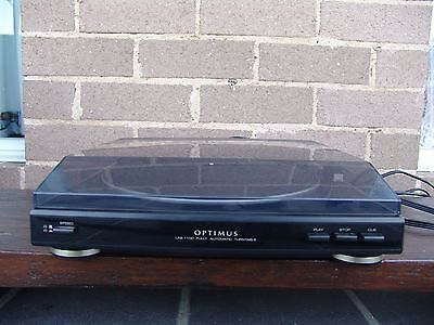 Optimus LAB-1100, 33/45 belt-drive vintage turntable record player no pre amp re