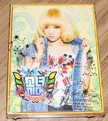 GIRLS' GENERATION I Got a Boy 4TH ALBUM TAEYEON COVER VERSION CD SEALED