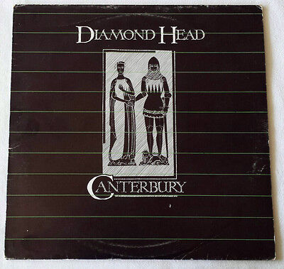 Diamond Head - Canterbury - LP - 1983 Original Italian Pressing MCA Iron Maiden