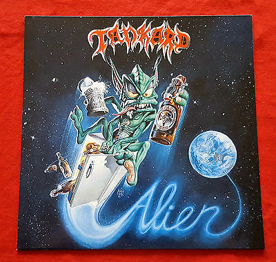 Tankard ‎– Alien - EP - 1989 - Noise First Press OIS - Destruction Sodom Kreator