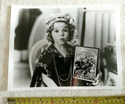 "Vintage 8""x10"" Shirley Temple Photo #1491-81"