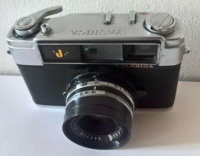 YASHICA J (japon 1961) yashinon 1:2,8 f=45mm