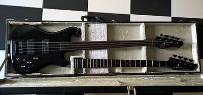 Rare Westone Spectrum Lx X695Bk Bass 1985 By Matsumoku - Two Necks