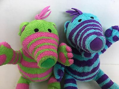 The Fimbles Soft Toys X 2 Florrie Baby Pom CBeebies Fisher Price 9 Inches