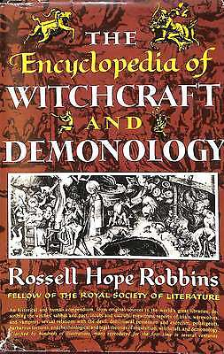 THE ENCYCLOPEDIA OF WITCHCRAFT AND DEMONOLOGY., Good Condition Book, Robbins, Ro