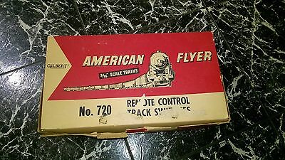 Gilbert American Flyer #720 Remote control track switches- box included