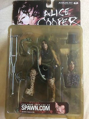 ALICE COOPER Figure By McFarlane Toys (2000) Brand New Sealed In Box