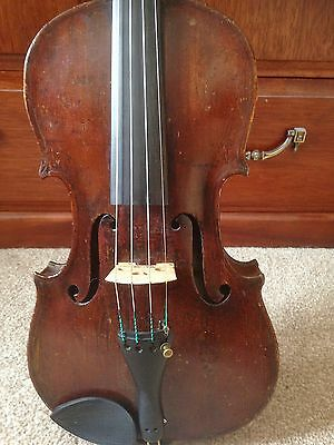 Fine old antique Scottish violin labelled  'Matthew Hardie fecit Edinburgh 1802'