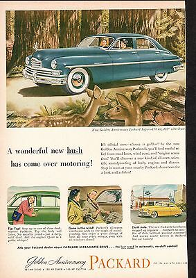 1953 Vintage Original Magazine Print Ads: Packard Car & Kodak
