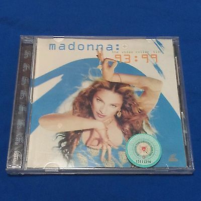 Madonna The video collection 93-99 VCD Singapore Edition