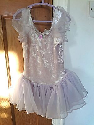 Girl's Ballet Costume Leotard In Lilac Color