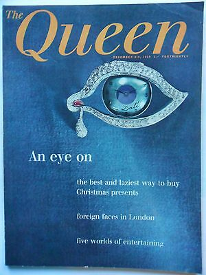 QUEEN UK Fashion and Society  mag December 8th 1959 Christmas Presents
