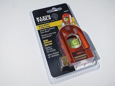 New! Klein Tools 935AB1V Accu-Bend Electrician Mini Level / Pipe Level